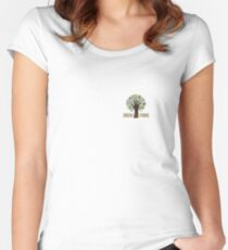 Diren Gezi Park Women's Fitted Scoop T-Shirt
