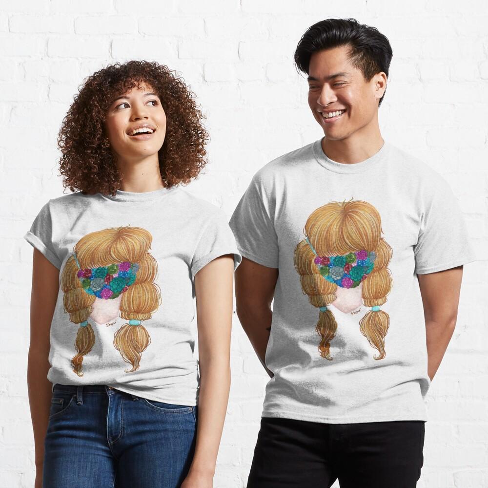 Succulents masked Classic T-Shirt