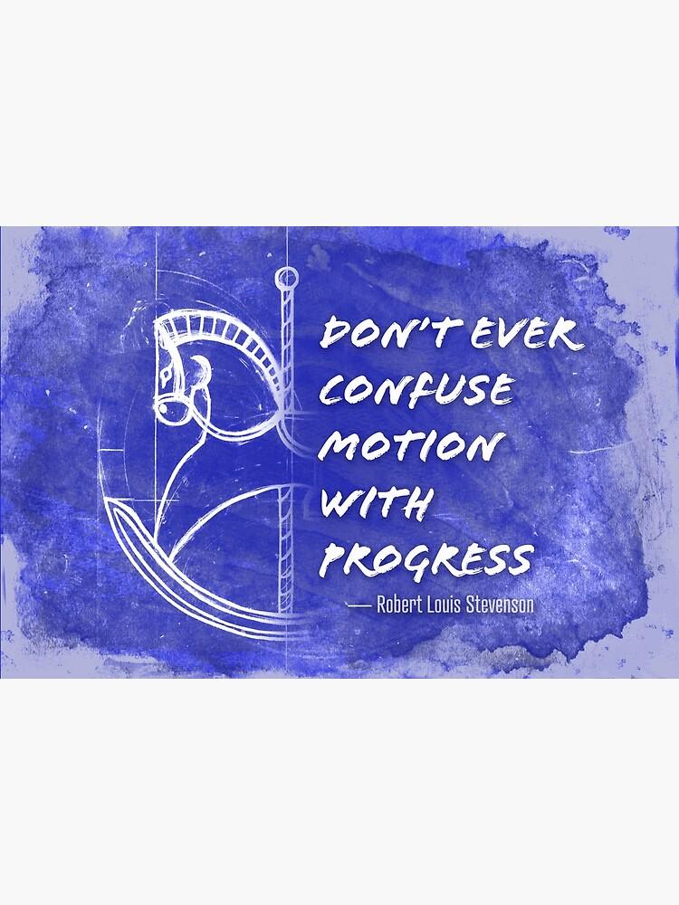 Motion vs Progress by flamepointart