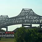 New Mississippi River Bridge, Baton Rouge, LA by Sharon Elliott-Thomas