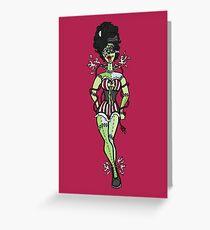 Sparky, Bride of Frankenstein  Greeting Card