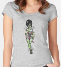 Sparky, Bride of Frankenstein  Women's Fitted Scoop T-Shirt