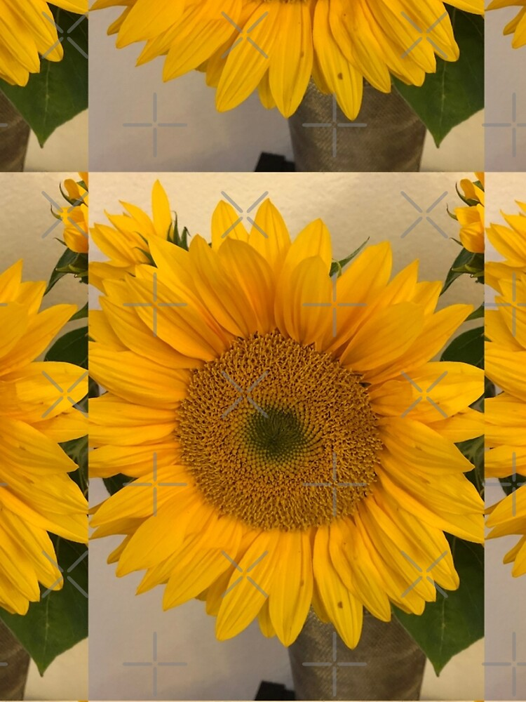 Sunflower, Yellow flower, Sunflower mask by PicsByMi