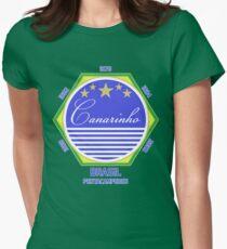 Brasil Canarinho Womens Fitted T-Shirt