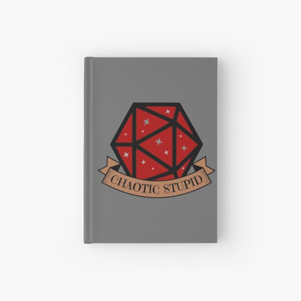 Chaotic Stupid Hardcover Journal