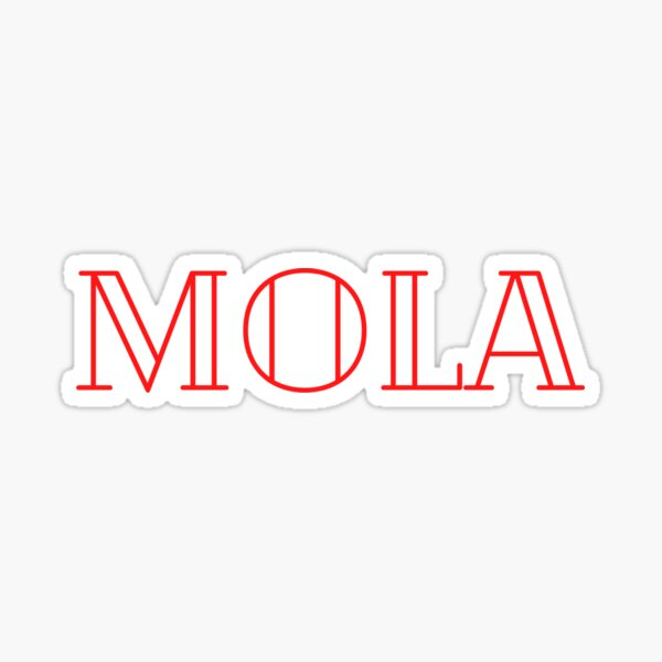 I am a person that MOLA Sticker