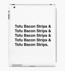 Tofu Bacon Strips iPad Case/Skin