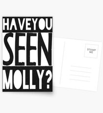 Have You Seen Molly ? Postcards
