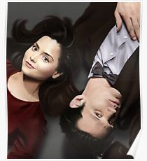 Dr Who and Clara Oswin Oswald Poster