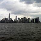 Manhattan Skyline by GracieHb