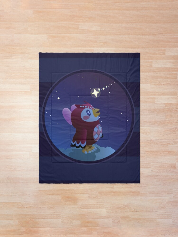 Alternate view of Celeste Stargazing At Night Comforter