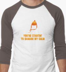 Jayne Hat Shirt - Damage My Calm Men's Baseball ¾ T-Shirt