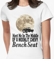 Meet Me In The Middle Of A Moonlit Chevy Bench Seat T-Shirt