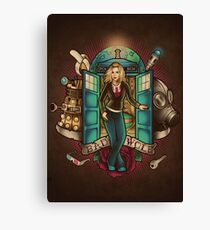 I Am The Bad Wolf Canvas Print