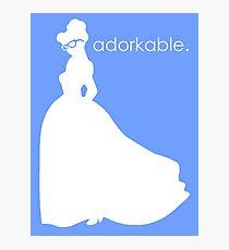 Adorkable Girl Photographic Print