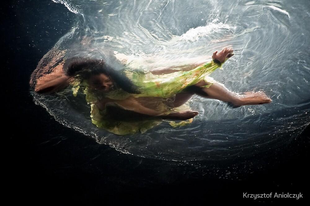 swimming in space by Krzysztof Aniolczyk
