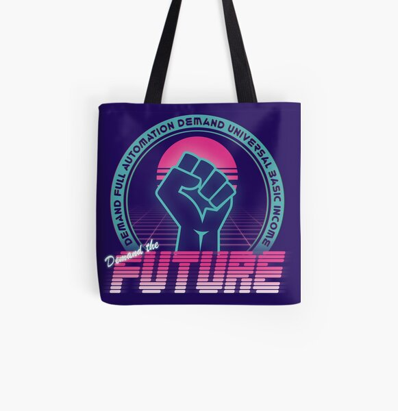 Demand The Future All Over Print Tote Bag