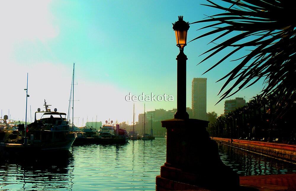 boats in the port by dedakota