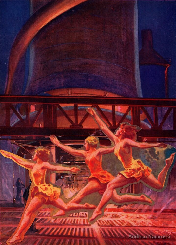 Nymphs of the Power Station. by Andrew Nawroski