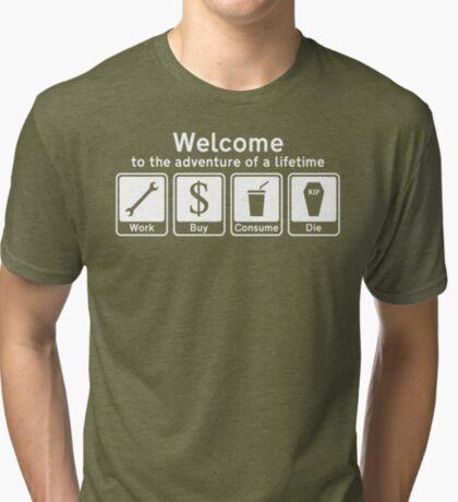 The Adventure Of A Lifetime Tri-blend T-Shirt