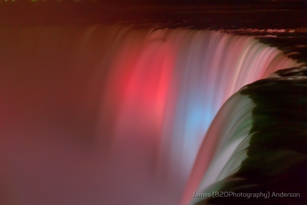 Silky Falls of Pink by James Anderson