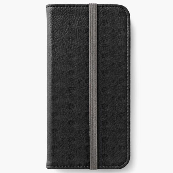 Dark Polka Pattern iPhone Wallet