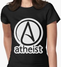 Atheist Women's Fitted T-Shirt