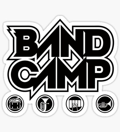 Band Camp Sticker