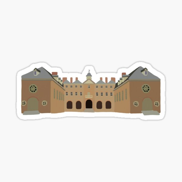 Wren Building Sticker