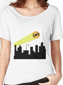 Bat Signal: Tie Women's Relaxed Fit T-Shirt