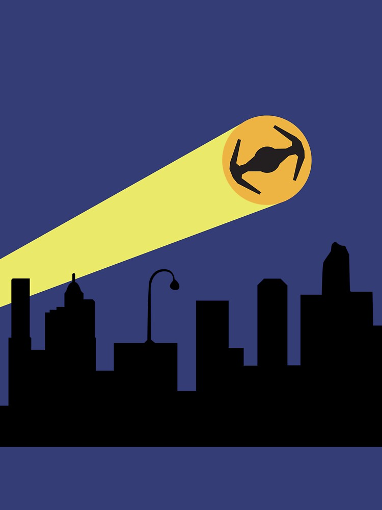 Bat Signal: Tie by MikesStarArt