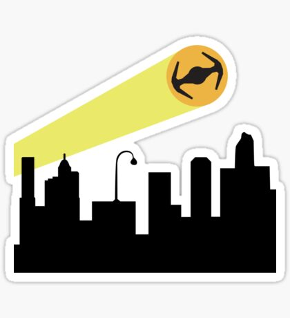 Bat Signal: Tie Sticker