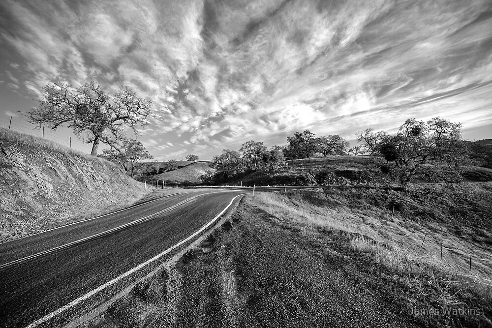 Route 130 to Mt. Hamilton by James Watkins