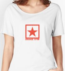 Orange Star Women's Relaxed Fit T-Shirt