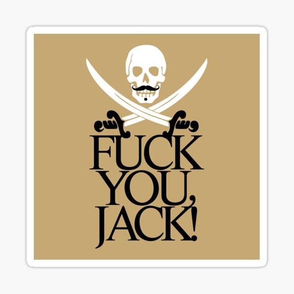 Jack Rackham Black Sails Sticker