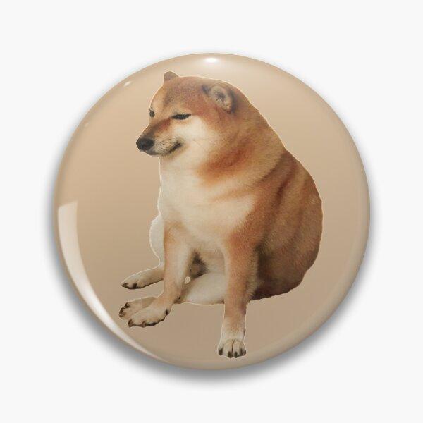 Cheems (dog sitting meme) Pin