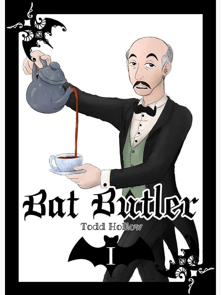 Bat Butler by ToddHollow