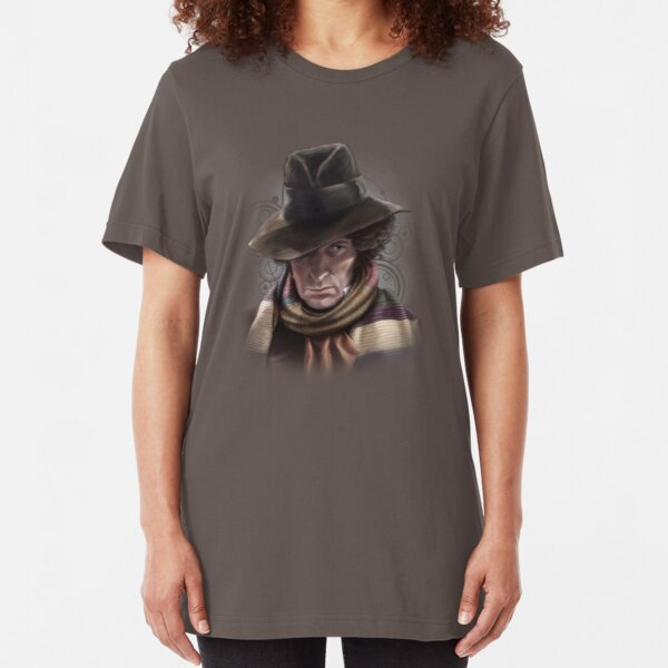 Fourth Doctor - Tom Baker Slim Fit T-Shirt
