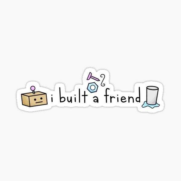 I Built a Friend Alec Benjamin Sticker