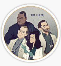 The Crawford Team Sticker