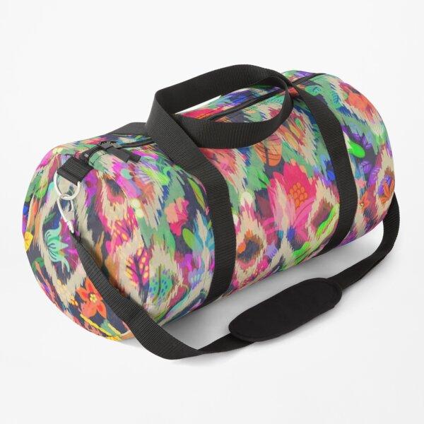Ikat Flora Duffle Bag