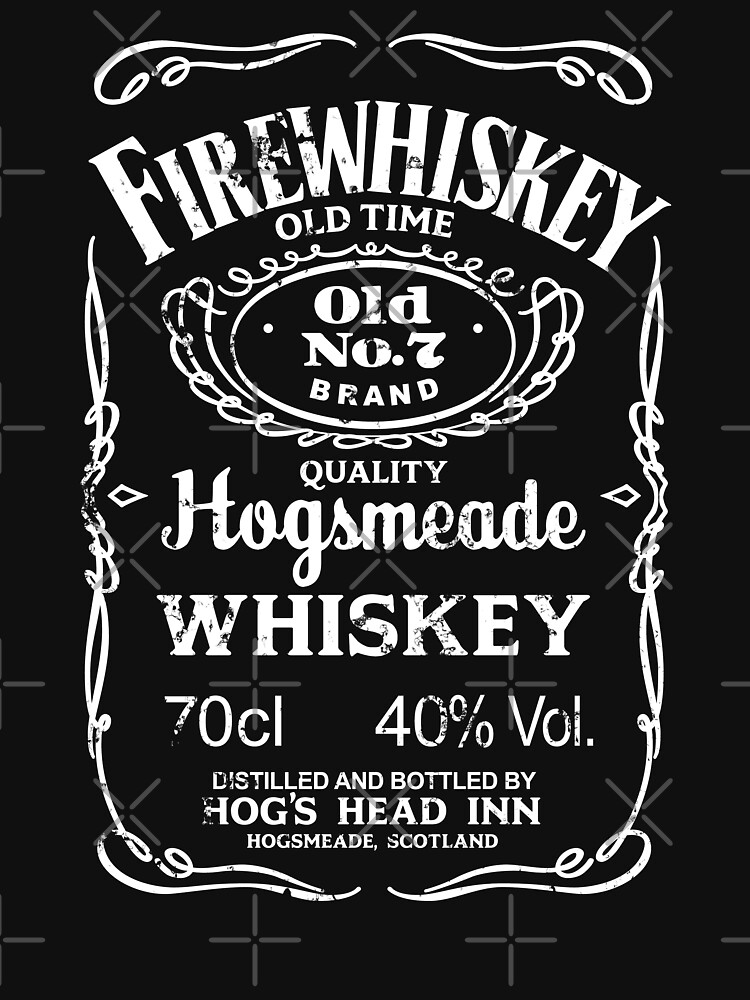Hogsmeade's Old No.7 Brand Firewhiskey | Unisex T-Shirt