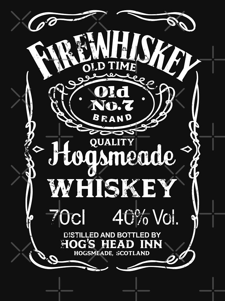 TShirtGifter presents: Hogsmeade's Old No.7 Brand Firewhiskey | Unisex T-Shirt
