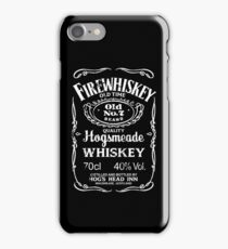 Hogsmeade's Old No.7 Brand Firewhiskey iPhone Case/Skin