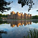 Sunrise at Herstmonceux Castle by willgudgeon