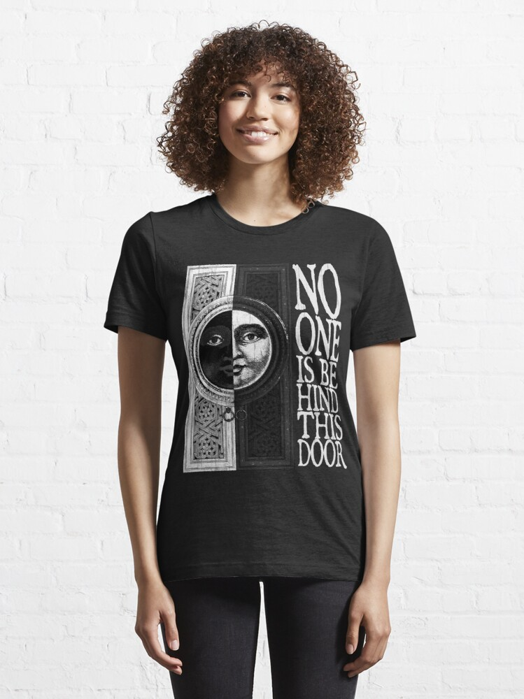 Alternate view of House of No One (White) Essential T-Shirt