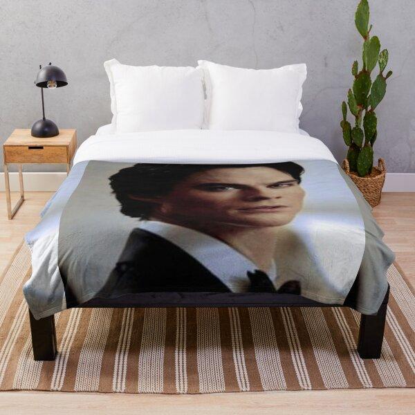 damon Throw Blanket