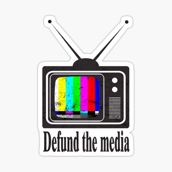 Defund The Media 2020 Sticker