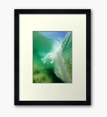 The Hand of Huey Framed Print