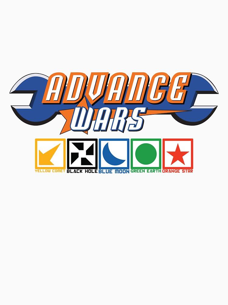 Advance Wars Logo with Factions von benenor90